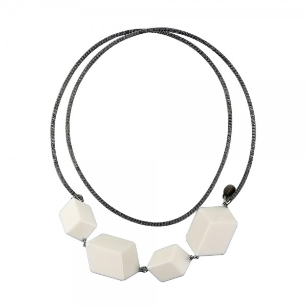 Necklace White Sculpture